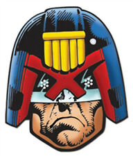 Judge Dredd Single Official Card Fun Face Mask - Great for Themed Parties