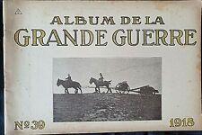 Album imprimé en  photographié en noir et blanc en édition allemand N°39 1918 A5