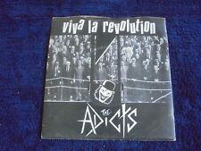 The Addicts - Viva La Revolution 1982 UK 45 FALL OUT PUNK/KBD