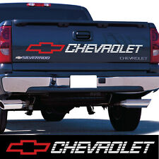 Chevrolet tailgate decal sticker silverado z71 lt ls 1500 2500 chevy W/R truck