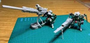 MSE-X Dynames Gundam Bazooka Launcher Weapon Set GK Resin Kits