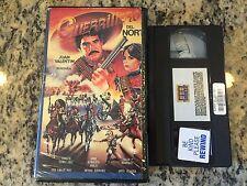 GUERRILLERO DEL NORTE RARE BIG BOX VHS! 1983 SPANISH WESTERN JUAN VALENTIN HTF!