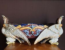 céramique centre de table majolique centrotavola in maiolica ceramica Ginori