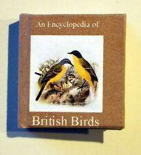 Dollshouse Miniature Book - British Birds