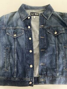 armani jeans denim jacket