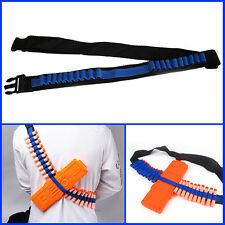 Bandolier Shoulder Strap Toy Gun Darts Bullet Storage For Nerf N-strike Blasters