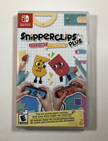 Snipperclips Plus: Cut It Out, Together (Nintendo Switch) Fast Free Shipping