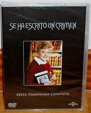 SE HA ESCRITO UN CRIMEN 6ª TEMPORADA COMPLETA 6 DVD NUEVO SERIE (SIN ABRIR) R2