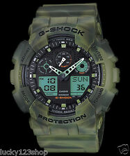 GA-100MM-3A Green G-shock Casio Men's Watches 200m Resin Band Brand-New 200m