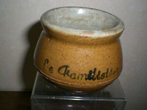 Ancien pot de yaourt  LE FAMILISTERE (publicitaire, cuisine, yahourt, lait)