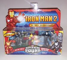 SUPER HERO SQUAD IRON MAN 2 HI-TECH SHOWDOWN SET 3-PACK