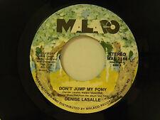 Denise Lasalle 45 DON'T JUMP MY PONY / DON'T PICK IT UP ~ Malaco VG++