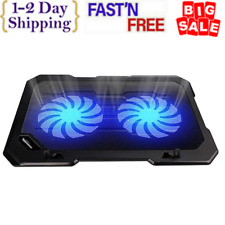 Laptop Cooling Pad Cooler Stand Coolpad Fan Mat External 15 inch Notebook USB