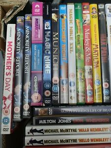 VARIOUS GENRE DVDS FROM M TO P