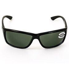 Costa Del Mar Men's Sunglasses Mag Bay Black Frame Grey Lens (AA11OGGLP)