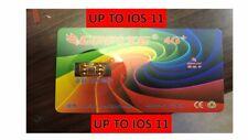 Beschaffung Turbo Sim Unlock Karte Für iPhone 8 7 6S 6+ 5S 5C SE 5 + Entsperrt bis IOS11