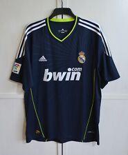 REAL MADRID 2010/2011 AWAY FOOTBALL SHIRT SOCCER JERSEY CAMISETA ADIDAS SIZE XL