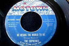 """SUPREMES/WHERE DID OUR LOVE GO /MOTOWN/USA  7"""" SP"""