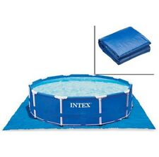 TELO BASE PER PISCINE INTEX MISURE CM. 472x472 - In polietilene - 28048