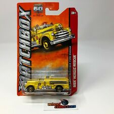 Classic Seagrave Fire Engine * Yellow * Matchbox * G27
