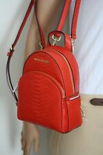 Michael Kors rücksack Bag Abbey XS backpack embossed cuero Orange