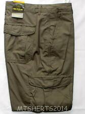 Da Uomo Ex High Street Active Cotone Pantaloni Cargo combattimento Jeans W30 L29 Grigio RA6