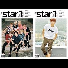 @STAR1 At Style Korea Magazine August 2016 Bangtan Boys BTS Infinite L DBL COVER