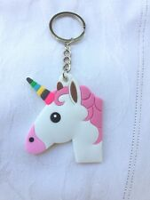 Unicorn Key Chain 6 cm Key Ring Car Key Bag Fashion Accessory Pvc Aussie seller
