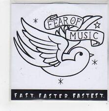 (FN124) Fear Of Music, Fast. Faster. Fastest - 2006 DJ CD