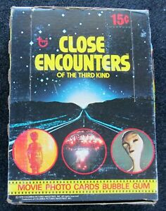 1998 TOPPS CLOSE ENCOUNTERS OF THE THIRD KIND WAX BOX (36) PACKS