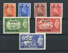 BOIC BA Eritrea KGVI 1951 set of 7 SG E26/32 MNH