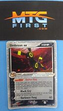 Holo Umbreon EX - Unseen Forces 112/115 HP - Fast Shipping Pokemon