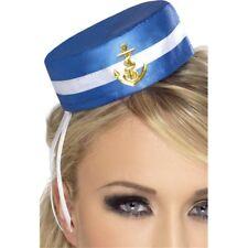 Smiffys Pill Case Chapeau De Marin - Bleu - Marinette Boîte À Pilules