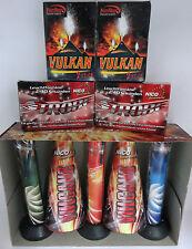 riesiges Feuerwerk mit großen Vulkanen, Fontänen, Summer Fountains, 17tlg. Party
