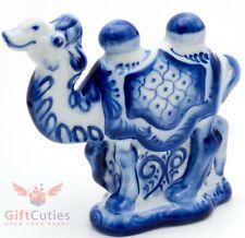 Gzhel porcelain  Figurine of Camel Гжель