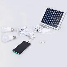 Sistema de iluminación portátil solar móvil celular Hogar Luces De Emergencia Power Pack
