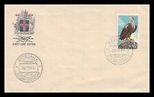 Iceland 1966 FDC, Sea-Eagle. Lot # 2.