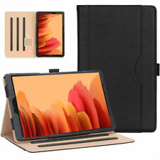 Samsung Galaxy Tab A 10.4 2020 T500/T505 Genuine Leather TAN Magnetic Case Cover