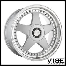 "18"" AVANT GARDE M240 SILVER FIVE STAR WHEELS RIMS FITS HONDA S2000"