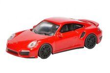 Schuco 20102 - 1/64 Porsche 911 Turbo (991) - Indischrot - Neu