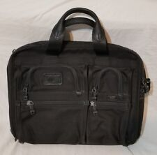 Tumi T-Pass USED 2621D3 Ballistic Nylon Expandable Laptop Business Travel Bag