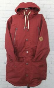 O'Neill Element Ski and Snowboard Jacket, Men's XL Extra Large, Cabernet Red New
