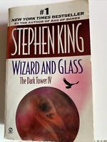 Stephen King Wizard and Glass The Dark Tower IV paperback Signet 1998 1st Print