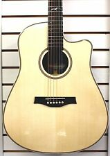 Seagull Artist Studio CW Element Cutaway Acoustic Electric Guitar Natural w/Case