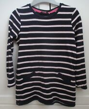 George Navy, White & Pink Stripe T-Shirt Top (Size 4-5 Years)