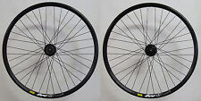 "Shimano RM66 Mavic XM319 Disco Bicicleta Carreras 28"" 29"" negro Center Lock"