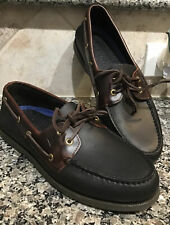 SPERRY TOP SIDER Men's Sz 11 M Authentic Original Black  Leather 0191486 NEW