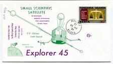1971 Explorer 45 US Italian Team Launch Small Scientific Satellite Kenya Scour