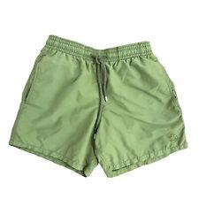 New listing Vilebrequin Swim Trunks Olive Green Shorts Size Small Drawstring Waist Pockets