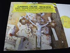 FAURE°REQUIEM<>CARLO MARIA GIULINI<>LP Vinyl~Germany Pressing<>DGG 419 243-1